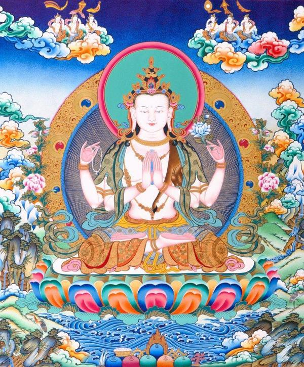 Accumulation and Offering of Chenrezig Mantra by KTC Jax